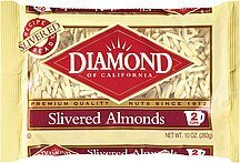 slivered almonds Diamond of California Nutrition info
