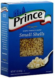 small shells Prince Nutrition info