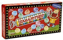 smarties assorted flavors Summit Foods Nutrition info
