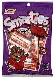 smarties Shari Candies Nutrition info