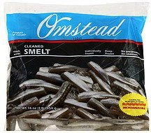 smelt cleaned, fresh water Omstead Nutrition info