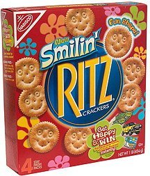 smilin' crackers Ritz Nutrition info