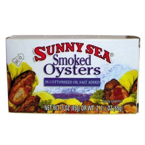 smoked oysters Sunny Sea Nutrition info