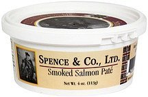 smoked salmon pate Spence & Co. Nutrition info