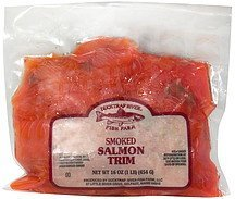smoked salmon trim Ducktrap Nutrition info