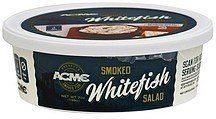 smoked whitefish salad ACME Nutrition info