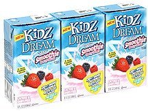 smoothie berry blast Kidz Dream Nutrition info