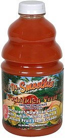 smoothie concentrate forbidden fruit Dr. Smoothie Nutrition info