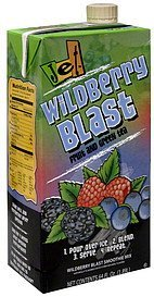 smoothie mix fruit and green tea, wildberry blast Jet Nutrition info