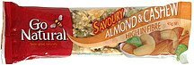 snack bar almond & cashew Go Natural Nutrition info