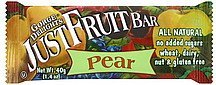 snack bar pear Gorge Delights Nutrition info
