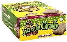 snack bars berry bamboozle with vanilla icing Jungle Grub Nutrition info