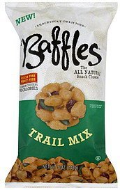 snack cluster trail mix Baffles Nutrition info