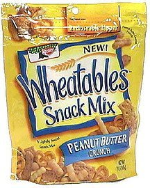 snack mix peanut butter crunch Wheatables Nutrition info