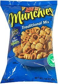snack mix traditional Munchies Nutrition info