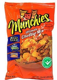 snack mix ultimate cheddar Munchies Nutrition info