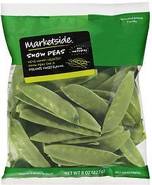 snow peas Marketside Nutrition info