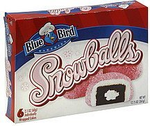 snowballs Blue Bird Nutrition info