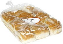 snowflake dinner rolls pre-priced Gold Medal Bakery Nutrition info