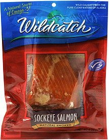 sockeye salmon natural smoked Wildcatch Nutrition info