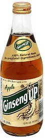 soda 100% natural, apple Ginseng Up Nutrition info