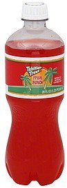 soda fruit punch Tahitian Treat Nutrition info