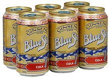 soda ginseng, cola Blue Sky Nutrition info
