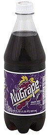 soda grape NuGrape Nutrition info