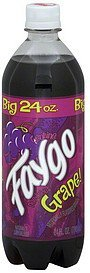 soda grape Faygo Nutrition info