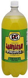soda jamaican, pineapple flavored DG Nutrition info