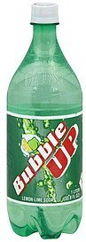 soda lemon lime Bubble Up Nutrition info