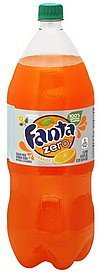 soda orange Fanta Nutrition info