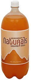 soda orange Adirondack Nutrition info