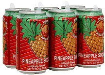 soda pineapple Ironbeer Nutrition info