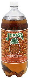soda pineapple Jupina Nutrition info