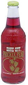 soda prickly pear Sioux City Nutrition info