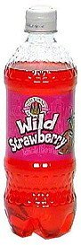 soda wild strawberry Old Towne Beverages Nutrition info