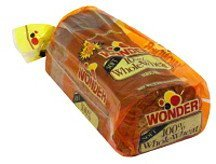 soft 100% whole wheat bread Wonder Nutrition info