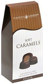 soft caramels Harry London Nutrition info
