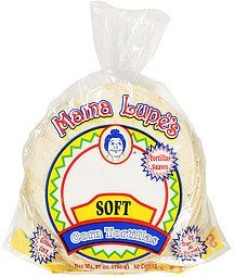 soft corn tortillas Mama Lupe's Nutrition info