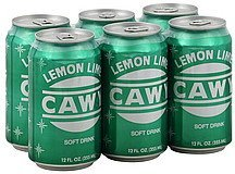 soft drink lemon lime Cawy Nutrition info