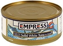solid white tuna in water Empress Nutrition info