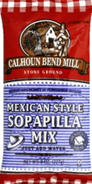 sopapilla mix mexican style Calhoun Bend Mill Nutrition info