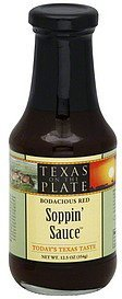 soppin' sauce bodacious red Texas On The Plate Nutrition info