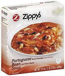 soup bean Zippys Nutrition info