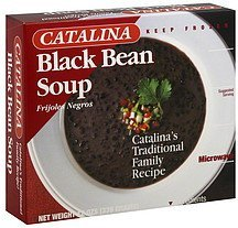 soup black bean Catalina Nutrition info