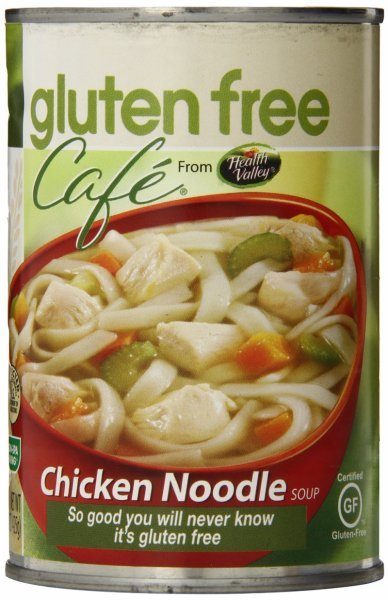soup chicken noodle Gluten Free Cafe Nutrition info