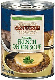 soup classic french onion World Classics Trading Company Nutrition info