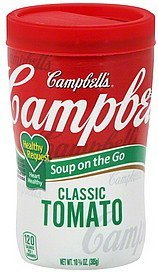 soup classic tomato Campbells Nutrition info