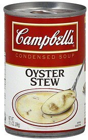 soup condensed, oyster stew Campbells Nutrition info